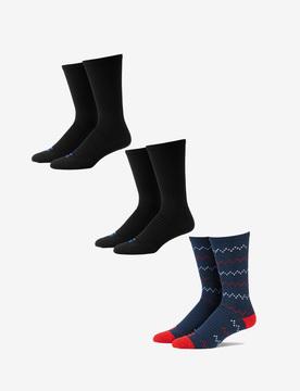 Tommy John Go AnywhereTM Sock 3 Pack