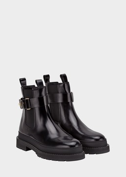 Versace Elastic Insert Ankle Boot