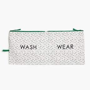 J.Crew Wash/wear travel pouch