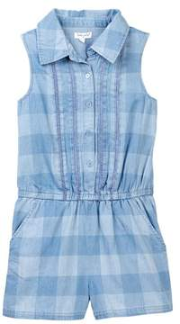 Splendid Gingham Check Romper (Big Girls)