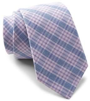 Original Penguin Olmedo Plaid Tie