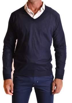 CNC Costume National Men's Blue Cotton Sweater.
