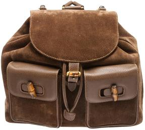 Gucci Bamboo backpack - BROWN - STYLE