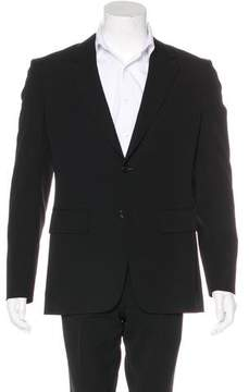BLK DNM Two-Button Wool Blazer
