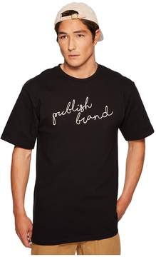 Publish Script Print T-Shirt Men's Clothing