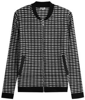 Kenzo Zipped Knit Jacket with Wool