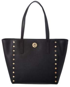 MICHAEL Michael Kors Rivington Leather Stud Tote. - BLACK - STYLE