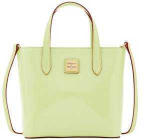 Dooney & Bourke Patent Mini Waverly Top Handle Bag - KEY LIME - STYLE
