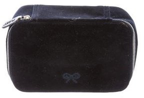 Anya Hindmarch Velvet Cosmetic Bag