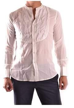 CNC Costume National Men's White Cotton Shirt.