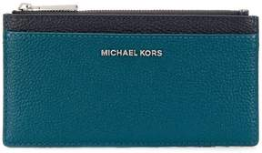 MICHAEL Michael Kors grained card wallet