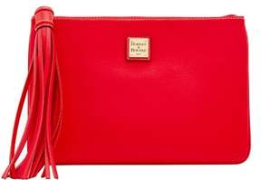Dooney & Bourke Saffiano Large Carrington Pouch - RED - STYLE