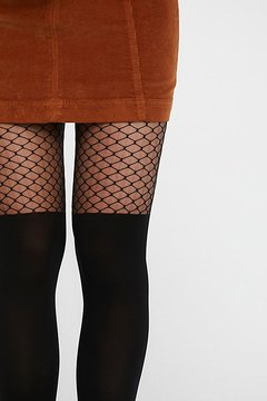Emilio Cavallini Itâ€TMS You Fishnet Tights by at Free People