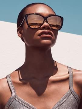 Linda Farrow Luxe Women's 24K Gold Cat Eye Frame
