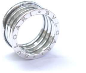 Bulgari B Zero 1 18K White Gold Ring Size 7.25