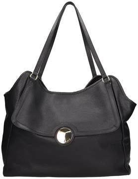L'Autre Chose Black Leather Bag