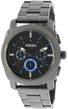 Fossil Men's FS4931 Machine Stainless Steel Watch, 45mm