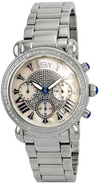 JBW Victory Womens 1/6 CT. T.W. Diamond Stainless Steel Bracelet Watch JB-6210-D