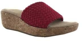 Adrienne Vittadini Women's Davis Slide Wedge Sandal.