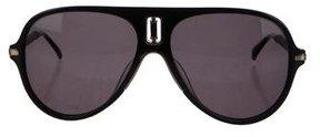 Balmain Tinted Aviator Sunglasses