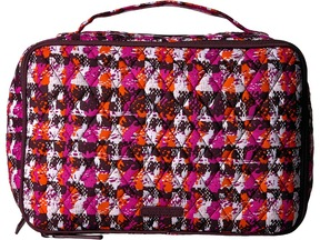 Vera Bradley Luggage - Large Blush Brush Makeup Case Cosmetic Case