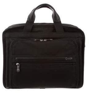 Tumi Leather-Trimmed Nylon Bag