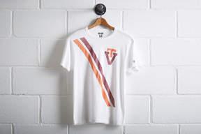 Tailgate Men's Virginia Tech Hokies Stripe T-Shirt