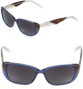 Vera Wang Women's 53MM Butterfly Sunglasses