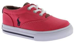Polo Ralph Lauren Infant Girls' Vaughn II Canvas Sneaker - Toddler