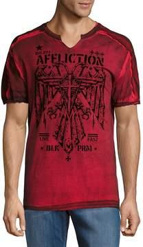 Affliction Men's Silent Eagle Cotton Shirt