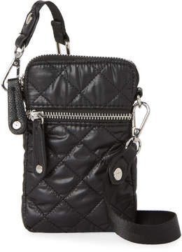 Sondra Roberts Nylon Puffer Cell Phone Crossbody