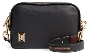 Marc Jacobs The Squeeze Leather Shoulder Bag - Black - BLACK - STYLE