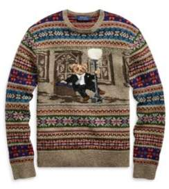 Ralph Lauren The Iconic Bear Isle Sweater Multi S