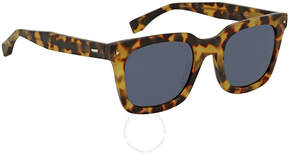 Fendi Blue Square Sunglasses FF 0216/S SCL/KU