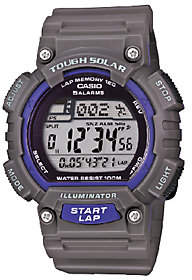 Casio Men's Gray Tough Solar Running Watch