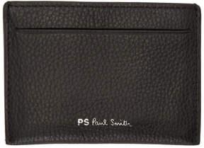 Paul Smith Black Multistripe Card Holder