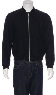 Dries Van Noten Wool Bomber Jacket