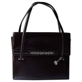 Delvaux Vintage Brown Leather Handbag