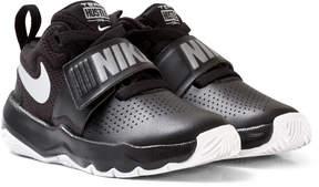 Nike Boys Black Team Hustle D 8 Kids Shoe