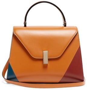 Valextra Iside Medium Leather Bag - Womens - Tan Multi