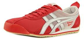 Onitsuka Tiger by Asics Fencing Women Round Toe Synthetic Red Sneakers.