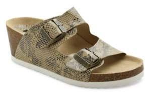 Kensie Wenda Wedge Sandals