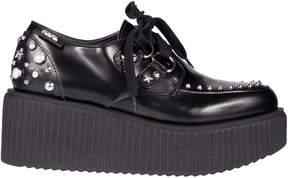 Karl Lagerfeld Studded Platform Sneakers