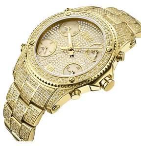 JBW Men's 5.5 Ctw Limited Edition Jet Setter Diamond Watch.