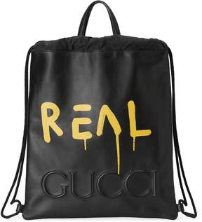 GucciGhost drawstring backpack