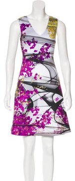 Clover Canyon Digital Print Sleeveless Dress