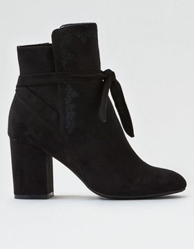 American Eagle Outfitters AE Tie Heeled Bootie