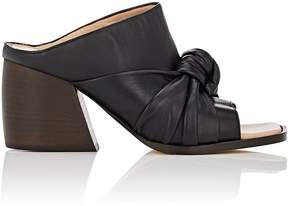 Helmut Lang WOMEN'S KNOTTED LEATHER MULES