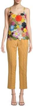 Rosie Assoulin Women's Hodges Podges Floral Silk-Blend Camisole