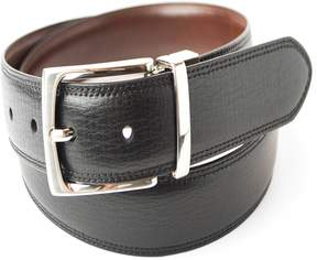 Dockers Men's Feather-Edge Textured Reversible Belt